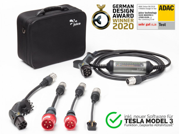 JUICE BOOSTER 2 | UK Tesla Model 3 Set