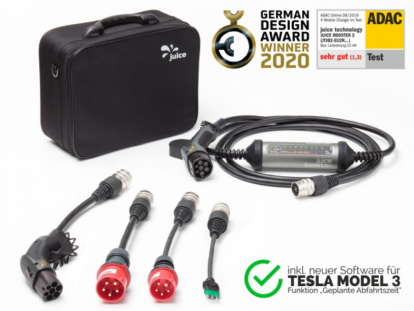 JUICE BOOSTER 2 | Italian Tesla Model 3 Set