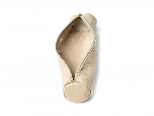 Lederetui E-PURSE | Leder tan (beige)