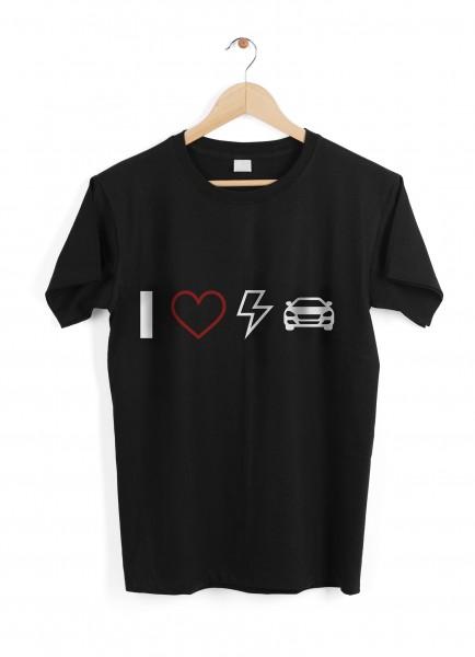 "T-Shirt ""I Love EVs"" - Size XL"