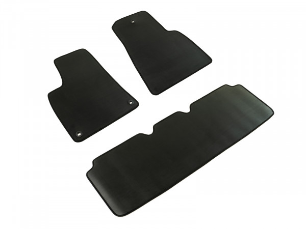 Premium car floor mats | PROTECTOR rubber rib, no. 1 for cockpit and cabin