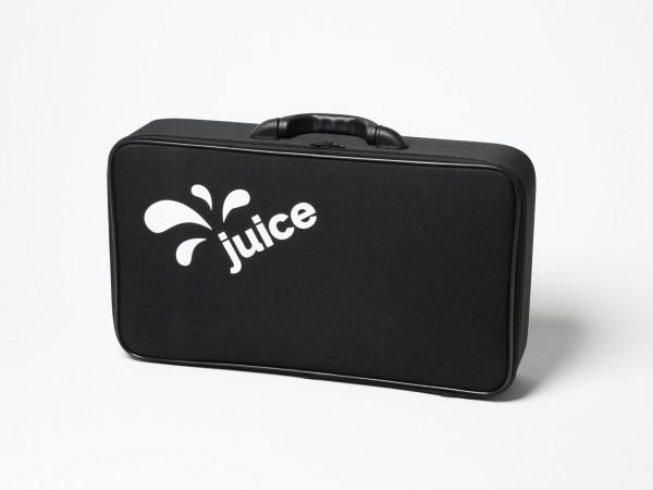 Juice carrier bag, including non-slip Velcro strips