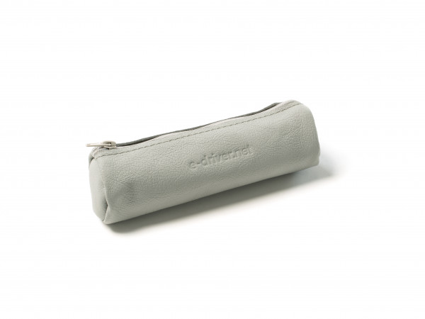 E-PURSE | Leather Pouch | grey