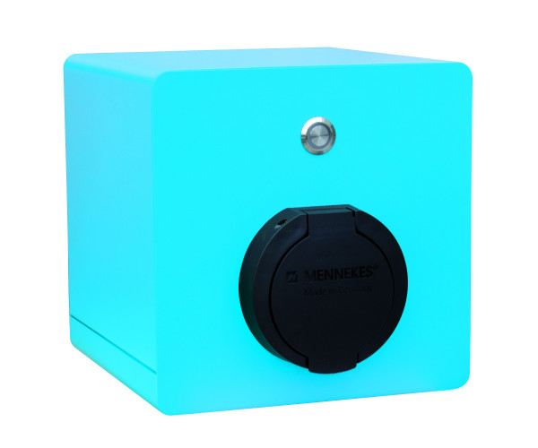 JUICE CHARGER 1 | 22 kW | wall box blue