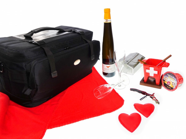 Romantic picnic bag for e-drivers